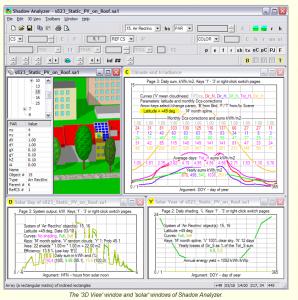 Shadow analyzer para CAD