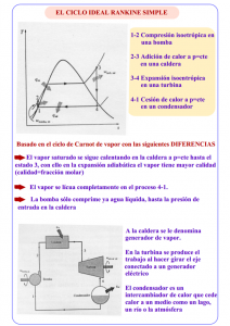 Ciclo simple de Rankine en termodinámica
