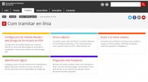 Importante: requisitos para desarrollar cualquier trámite online ante la Generalitat de Barcelona