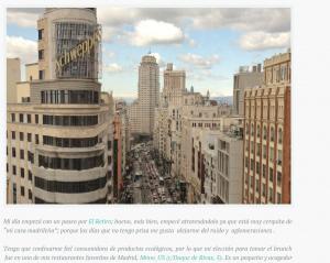 Madrid: ciudad apasionante para descubrir y vivir