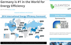 Germany World for Energy Efficiency