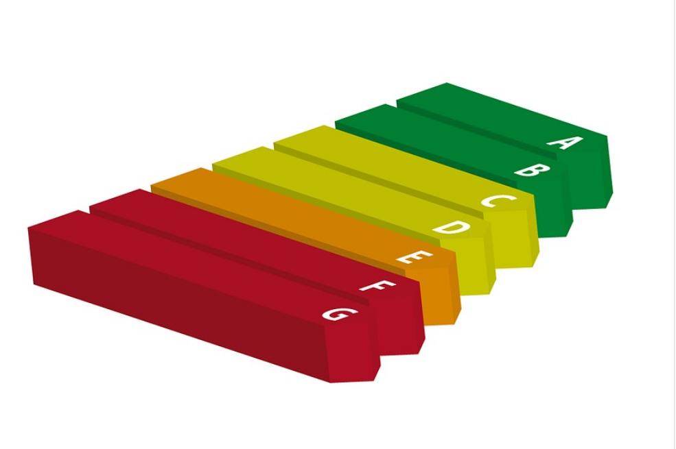 etiqueta energética escala