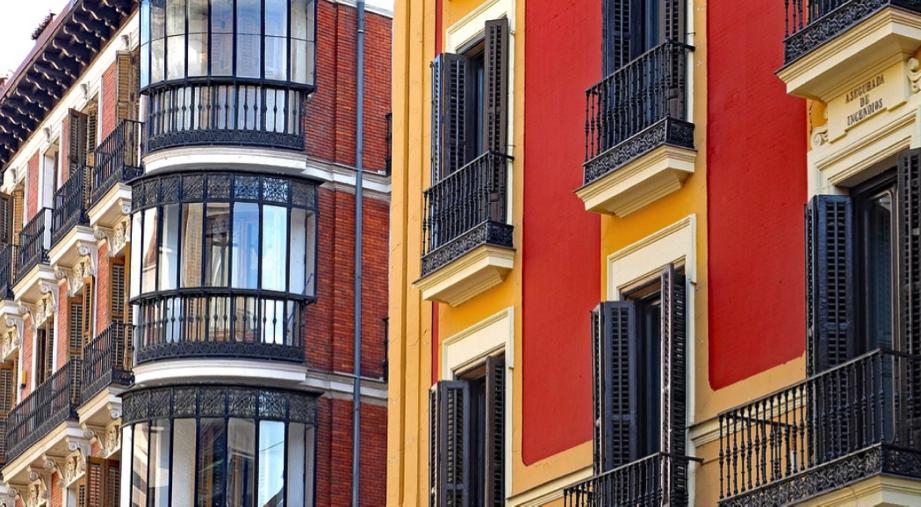 fachadas edificios rehabilitados