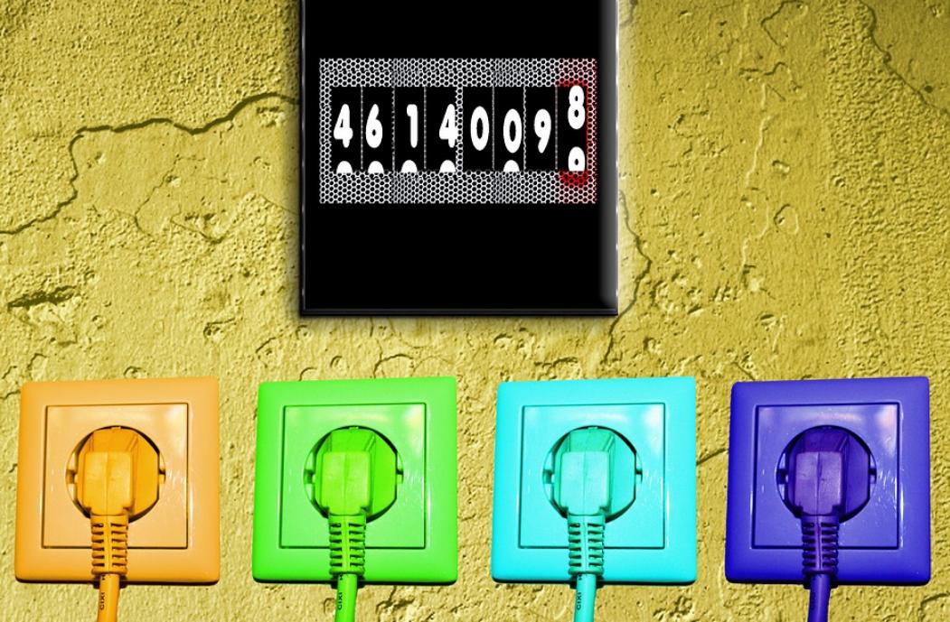 certificado energetico madrid enchufes de colores contador