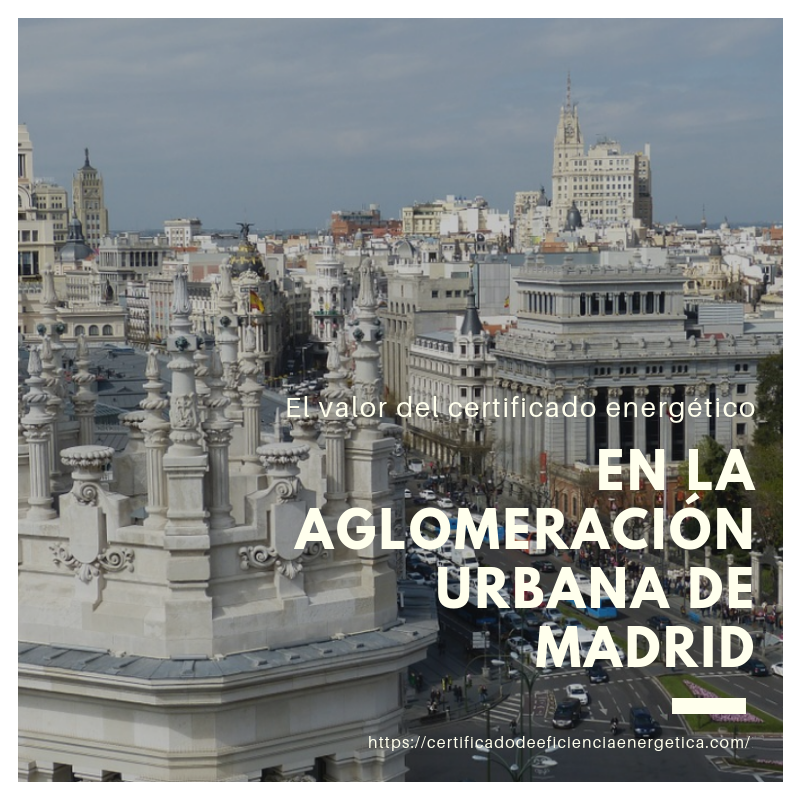 Aglomeración urbana en Madrid