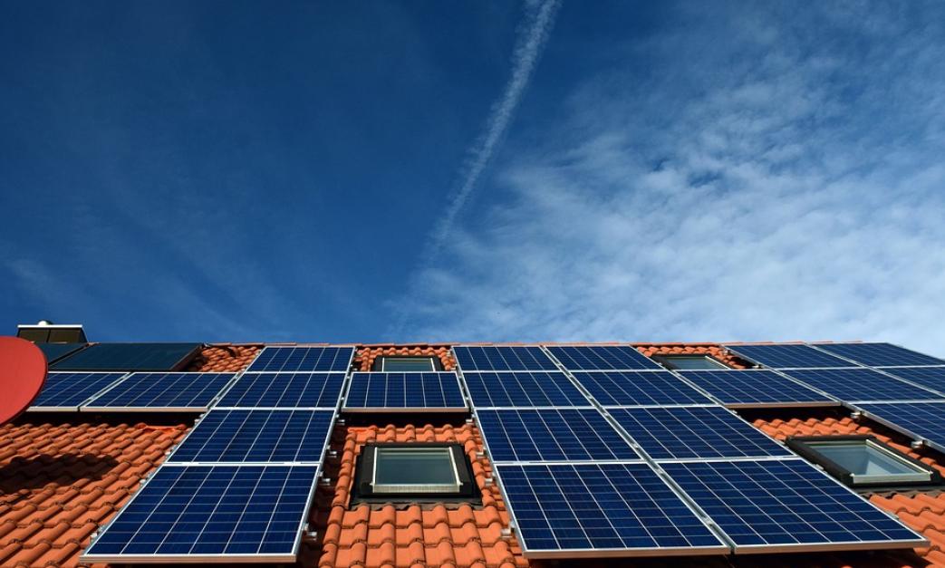 paneles solares tejado