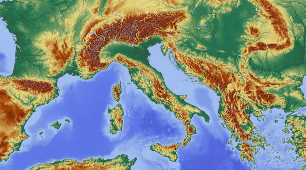 Mapa Europa energia renobable