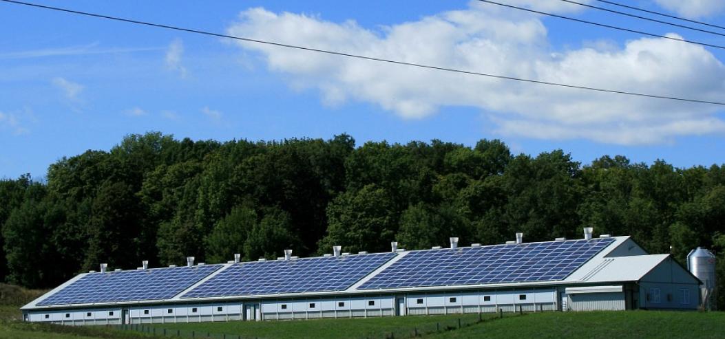 Paneles solares en Europa