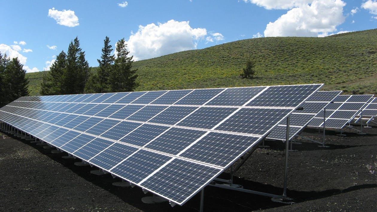 placas solares campo