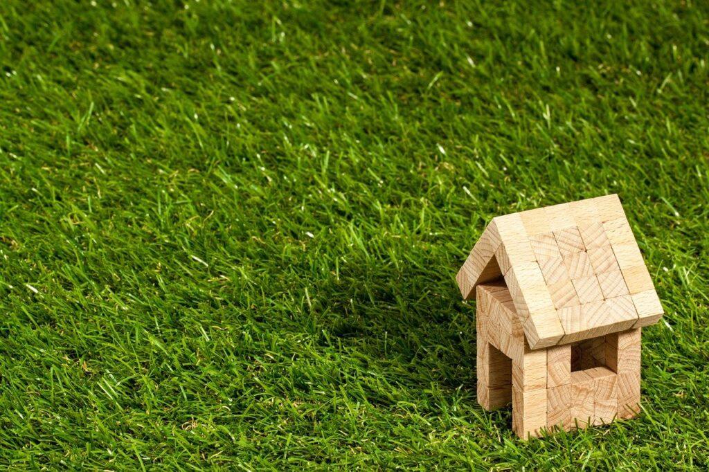 Casa de madera verde ecológica alquiler