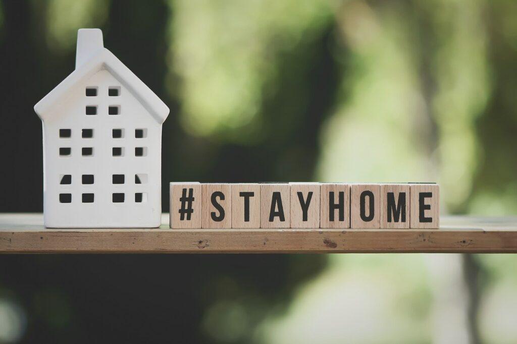 stay home - quédate en casa - coronavirus