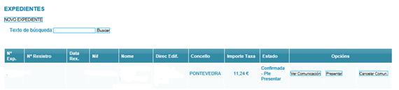 registro certificación energetica galicia