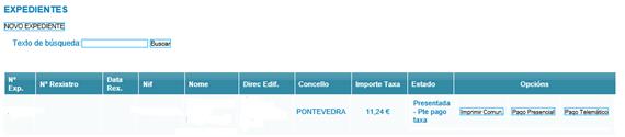 registro certificado energético galicia pasos expediente