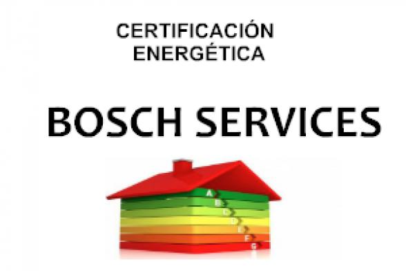 CERTIFICACIÓN ENERGÉTICA.BOSCH SERVICES