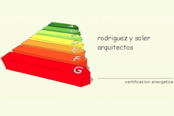 Rodriguez y Soler arquitectos - certificado energetico