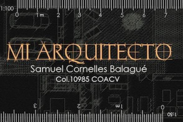 MI ARQUITECTO - Samuel Cornelles