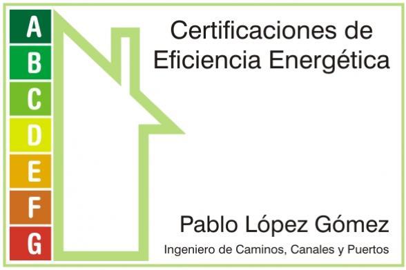 Pablo López Gómez. Certificados de Eficiencia Energética. Alcalá de Henares.