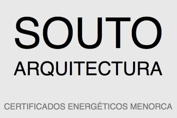 Souto Arquitectura - Certificados energéticos en Menorca