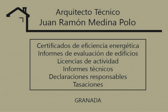 Juan Ramón Medina Polo - Arquitecto técnico