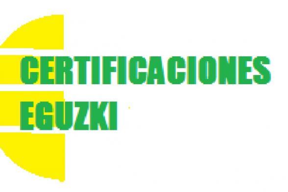 Certificaciones Eguzki
