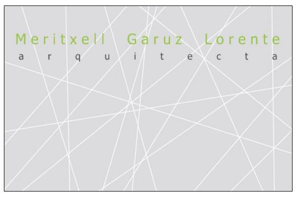 Meritxell Garuz Lorente, arquitecta