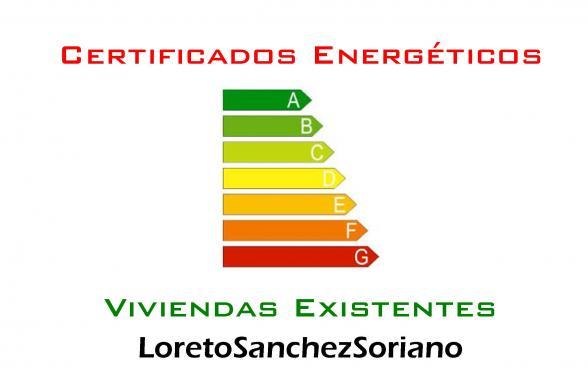 Loreto Sanchez Soriano. Certificados energéticos viviendas.