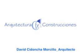 David Cidoncha Morcillo. Arquitectura y Construcciones